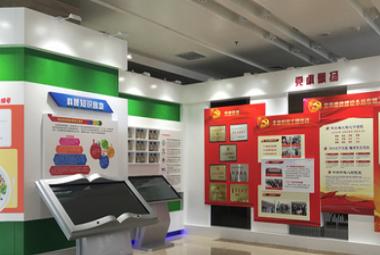 石家莊企業展廳設計與施工